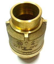 "2"" Bronze Body Grooved Check Valve 250 PSI - Fire Protection UL/FM"