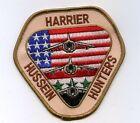 PERSIAN GULF WAR OPERATION IRAQI FREEDOM DESERT STORM Hussein Hunter AV8B PATCH
