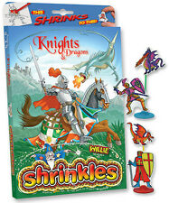 38 KNIGHTS & DRAGONS EMBELLISHMENTS SHRINKLES SHRINKIE SHRINK ART BUMPER BOX SET