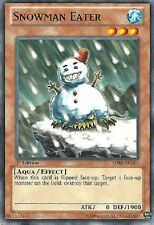 SNOWMAN EATER x3 Yugioh Card Mint SDRE-EN016 3x Cards