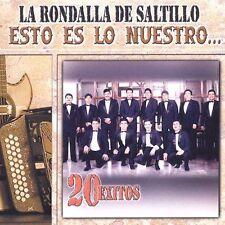 La Rondalla de Saltillo Esto es lo Nuestro CD 20 Exitos New sealed