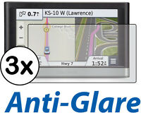 3x Anti-Glare LCD Screen Protector Film Garmin Nuvi 2597 2597LT 2597LM 2597LMT