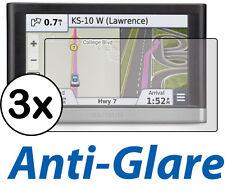 3x Anti-Glare LCD Screen Protector Film Garmin Nuvi 2577 2577LT 2577LM 2577LMT