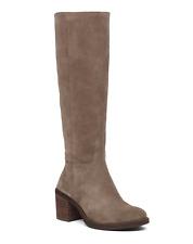 Lucky Brand Womens Ritten Tall Boot Wide Calf Gray Size 8 #NK4G1-M434