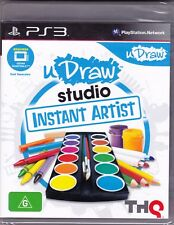 PS3 - u Draw studio instant artist - PS3 Game (Brand New Sealed)