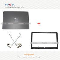 New HP 15-BS015DX 15T-BR 15T-BS 15Z-BW Lcd Back Cover Top Case + Bezel + hinges