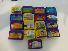 Large Lot Of LEAP FROG Leap Pad Books And Cartridges