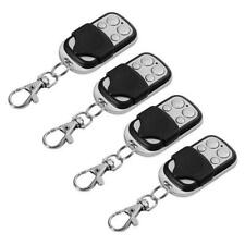 4X Universal 433MHz Wireless Electric Gate Garage Fob RF Remote Control Cloning