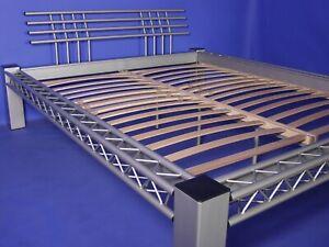 Stahlbett Metallbett Mod. 4P-Quad-w.alu 180x200