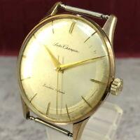 Vintage 1964 Seiko Champion J15018 EGP 19Jewels Hand-winding Watch Japan #387