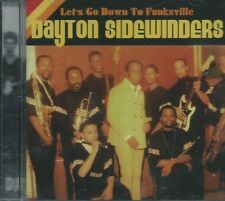 DAYTON SIDEWINDERS - LET'S GO DOWN TO FUNKSVILLE PHILLY GROOVE 60s 70s SEALED CD