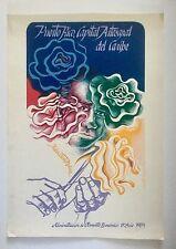 Lyzette Rosado, Signed Puerto Rico Capital Artesanal Del Caribe '85, Cartel, Art