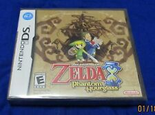 DS -Legend of Zelda Phantom Hourglass ~ Brand New Factory Sealed Game ~ flawless