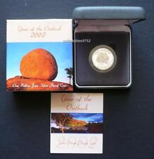 2002 Year Of The Outback Pure Silver One Dollar Proof Coin