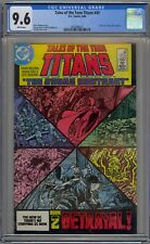 Tales of the Teen Titans #43 CGC 9.6 NM+ Wp DC Comics 1984 Judas Contract Pt 2