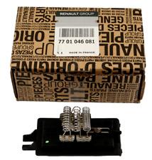 Original Heater Motor Control Resistor Renault Twingo I 7701046081