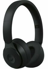 Beats By Dr. Dre Solo Pro  Black Noise Cancelling Wireless On Ear Headphones