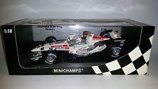 Minichamps F1 Honda RA106 Anthony Davidson 1/18 3rd Driver GP Brazil 2006