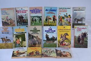 Vintage Pony books Ruby Ferguson, Diana Pullein-Thompson, Mary Gervaise x16