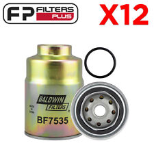 12 x BF7535 Baldwin Fuel Filter Suits Toyota Landcruiser - Z252, 2330356040