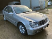 2002 Mercedes Benz c220 cdi automatic saloon classic w203 spares or repair