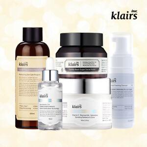 KLAIRS Freshly Juiced Brightening Package 5 items / exfoliate cleanse tone serum