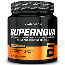 BIOTECH USA SUPERNOVA - Pre-Workout Booster - Amino Energy & Creatine Complex