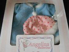 Angelina Ballerina American Girl Rare Christmas Coat and Hat Dolls outfit BNIB