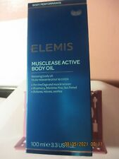 Musclease Active Relaxing Body Oil 3.3 oz new and in box relazing body oil