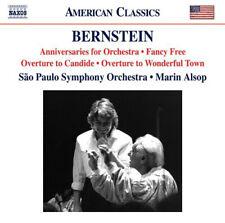 Leonard Bernstein : Bernstein: Anniversaries for Orchestra/Fancy Free/... CD