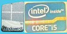 Nuevo Intel Inside Core i5 Libre Etiqueta Engomada de la computadora Windows 8 7 PC Genuino 10 base