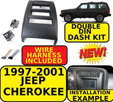 1997-2001 JEEP CHEROKEE DOUBLE DIN CAR RADIO STEREO INSTALLATION DASH KIT