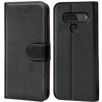 Book Case für LG G8s ThinQ Hülle Flip Cover Handy Tasche Schutz Hülle Schale
