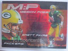 Brett Favre - 2000 Fleer Showcase Mission Possible INSERT #2 - Green Bay Packers