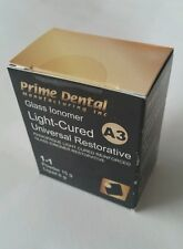 Glass Ionomer light cure universal restorative cement A3 Prime Dent