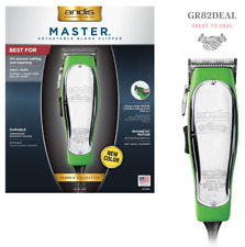 Andis 12380 Master Adjustable Blade Clipper Lime Green New