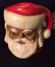 Vintage Santa Stein Mug Pitcher - 1977 Home Decor Associates Lodi NJ
