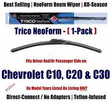 Super Premium NeoForm Wiper Blade (Qty 1) fits 1985-1986 Chevrolet C20 16160 (c)