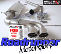 Milltek Seat Ibiza Cupra / Bocanegra 1.4TSI 180PS Exhaust Cat Back Non Res 2.76""