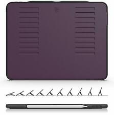 """ZUGU CASE The Muse for 2018 iPad Pro 12.9"""" 3rd Gen Stand Sleep/Wake Cover Purple"""