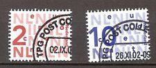 Nederland - 2002 - NVPH  2034 en 2135 - Gestempeld - BH733