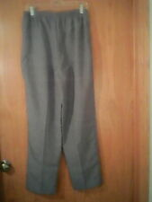 "Lauren Scott women's gray casual pants, 12, polyester, waist 32"" inseam 30"""