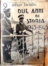 LOTTO 2 ANNI DI STORIA  1943-1945 TOSI EDITORE 1948 SEQUENZA 2-69 MENO N.49