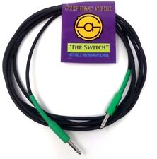 The Switch Guitar Cable 15' Bass/Guitar Green Cable Mutable Circuit Breaker New