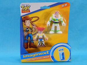 Imaginext Buzz Lightyear & Jessie Disney Pixar Toy Story 2 Pack New Sealed