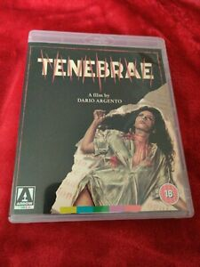 TENEBRAE BLU RAY & DVD COMBI ARROW VIDEO WITH BOOKLET RARE AND MINT