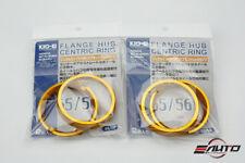 4pc Aluminum Kics KYO-EI Hub Centric Ring 65-56, OD = 65mm to ID = 56mm