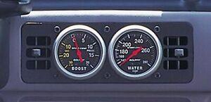 AUTO METER 87-93 Mustang 2-5/8in Dual Gauge Cage P/N - 50101
