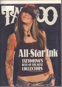 Tattoo Supplement 2007 All-Star Ink Tattooings best of the best 031116DBE