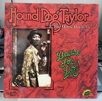 "Chicago Blues LP HOUND DOG TAYLOR  ""Beware Of The Dog ! "" 1976 Sonet (EX / NM+)"